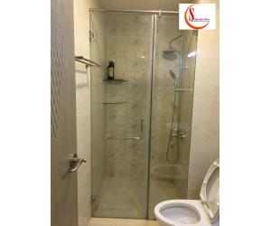 Thi công kính cường lực , vách ngăn phòng tắm tại quận 7 tp.hcm